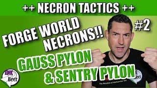 instructions to scratch built necron gauss pylon