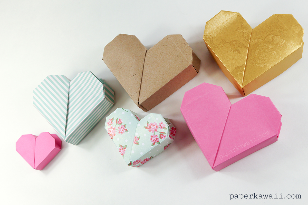 origami heart instructions youtube