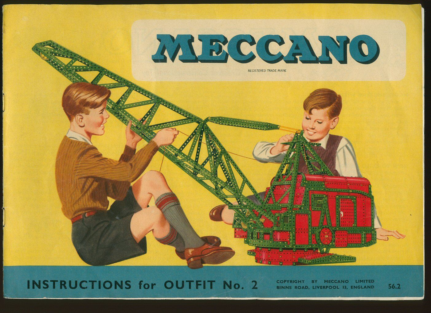 meccano 22 models instructions