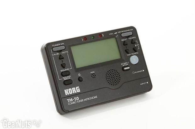 korg tm 50 metronome instructions