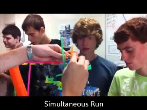 straw roller coaster instruction