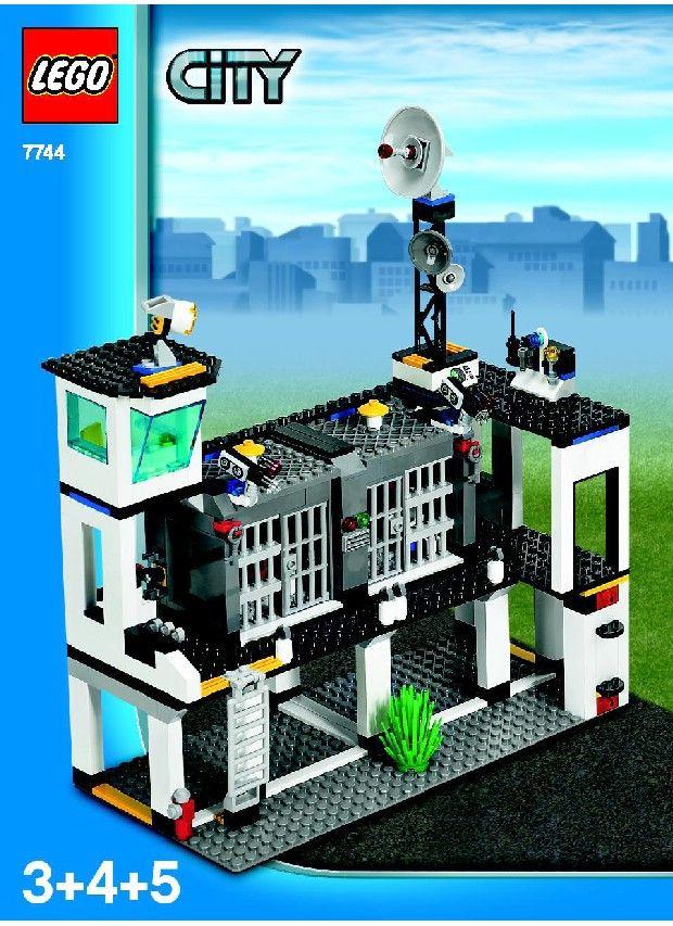 lego city police 7287 instructions