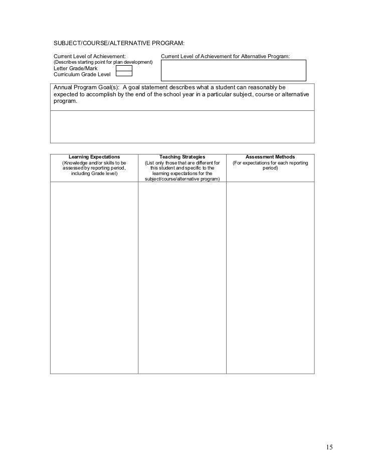 teaching strategies instructional environmental and assessment accommodations