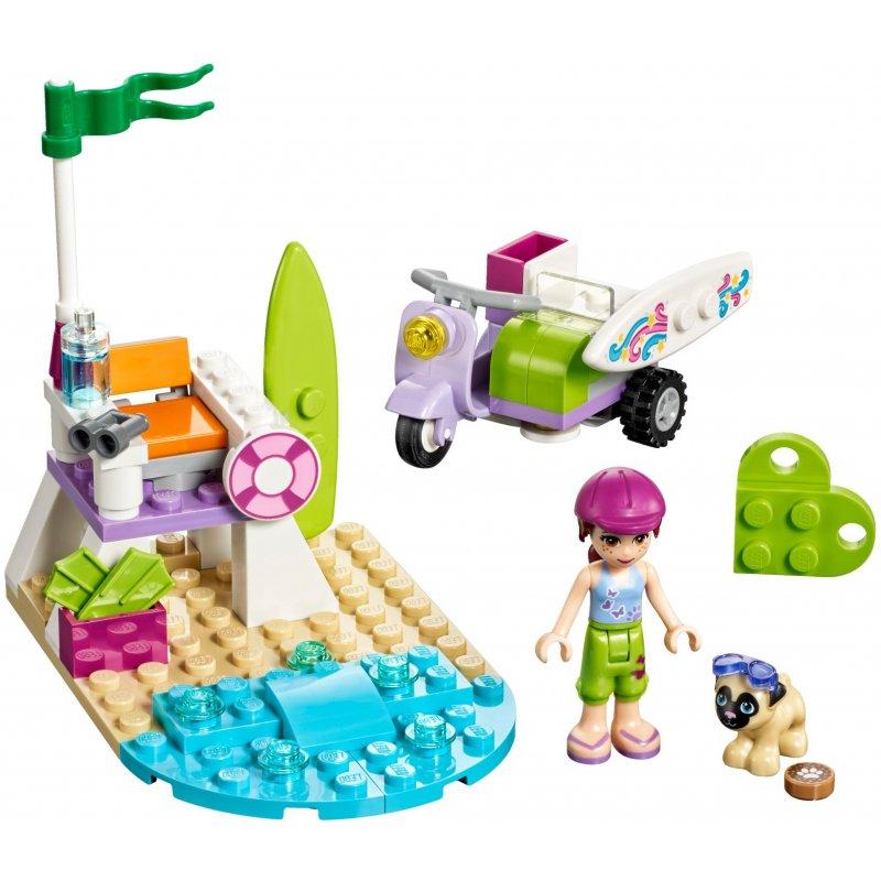 lego friends purple car instructions