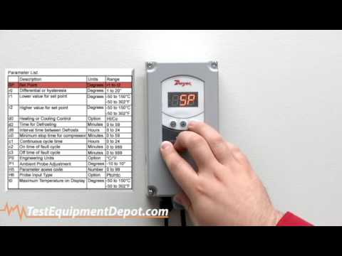 ranco electronic temp control instructions