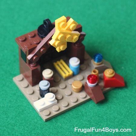 diy lego shoe instructions