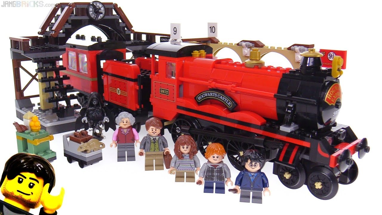 lego harry potter hogwarts express 4708 instructions