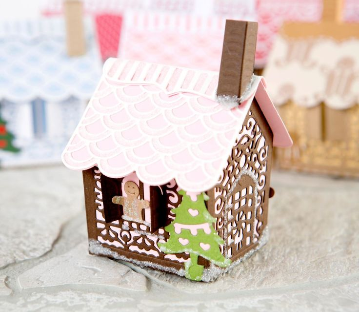 tonic gingerbread house instructions