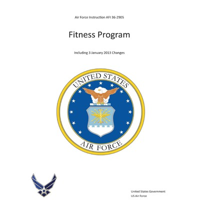 air force fitness instruction