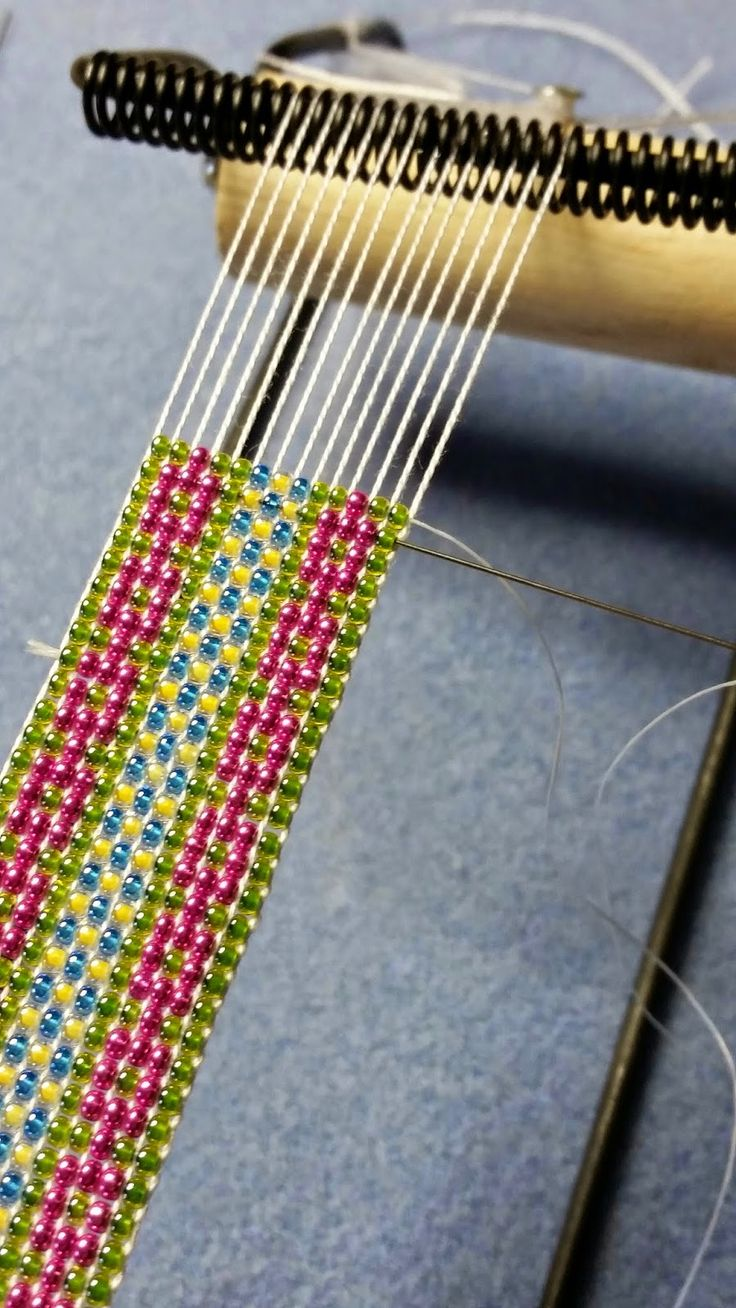 seed bead stitches instructions