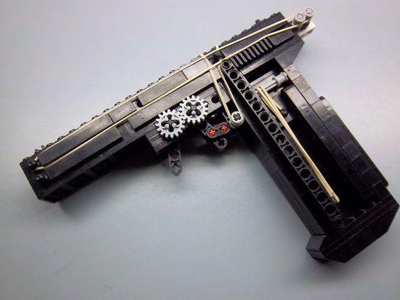 lego gun instruction book