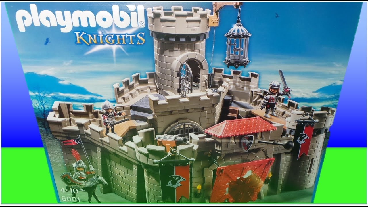old playmobil building instructions