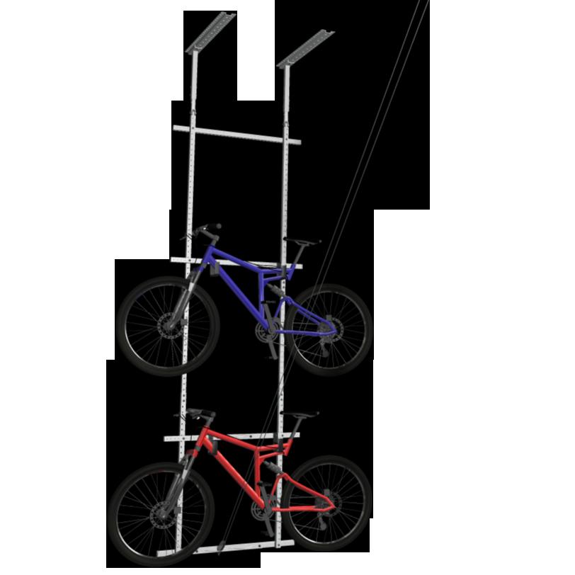 mastercraft bike lift instructions