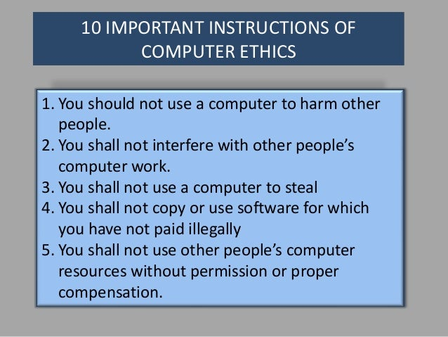 set of instructions used by a computer