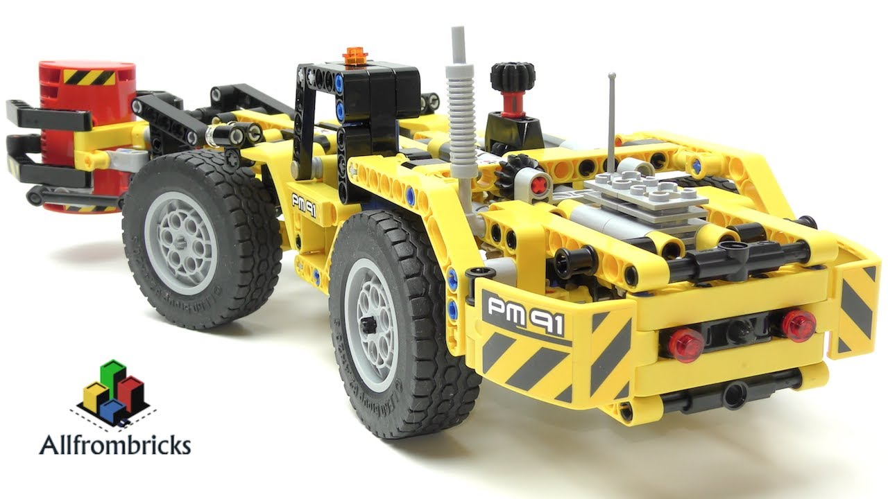lego technic mine loader instructions
