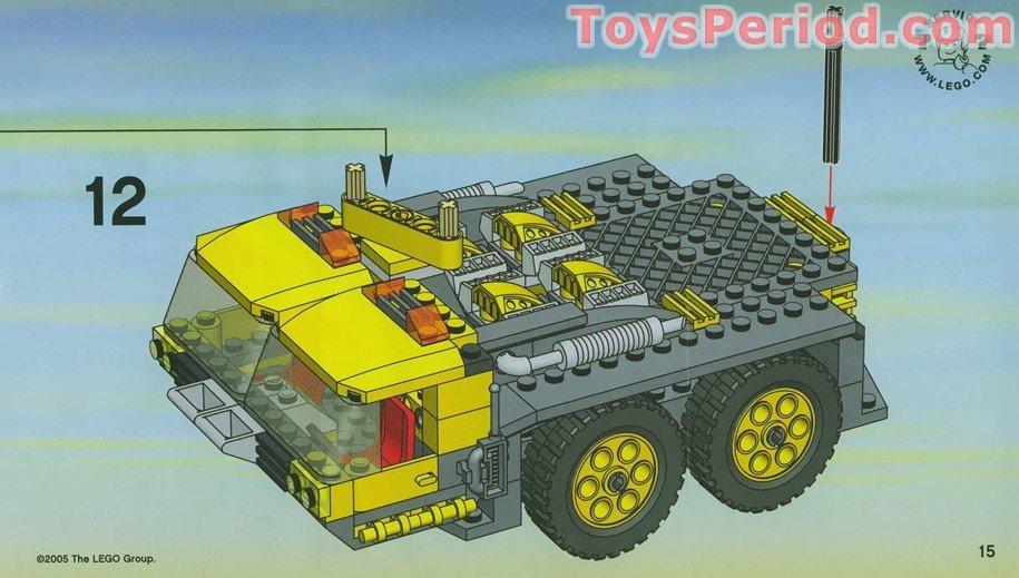 lego xxl crane instructions