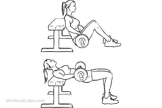 glute bridge exercise instructions