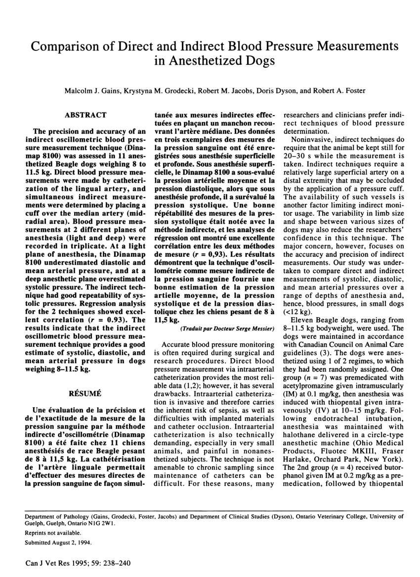 canadian journal anesthesia instructions authors