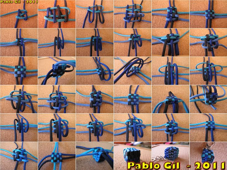 knot monkey fist instructions