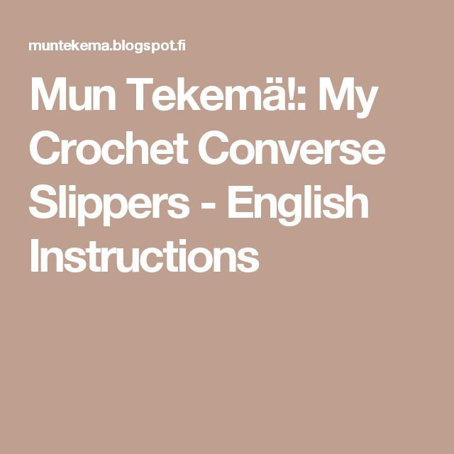 written instructions for converse shoes