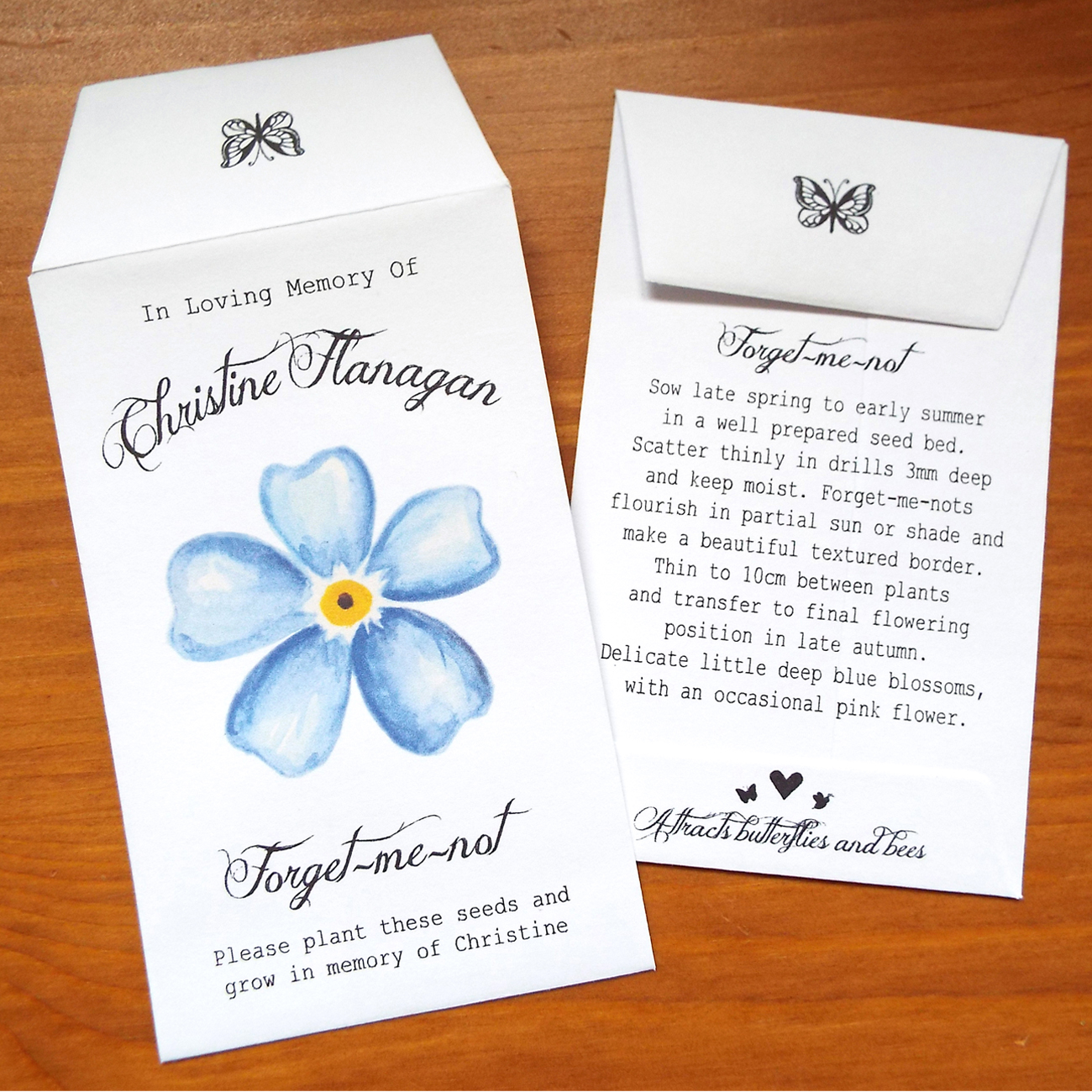 ecocube forget me not instructions