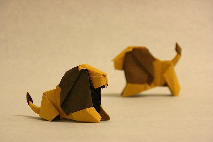 origami lion instructions easy