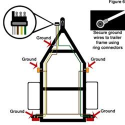 boat trailer light kit instructions