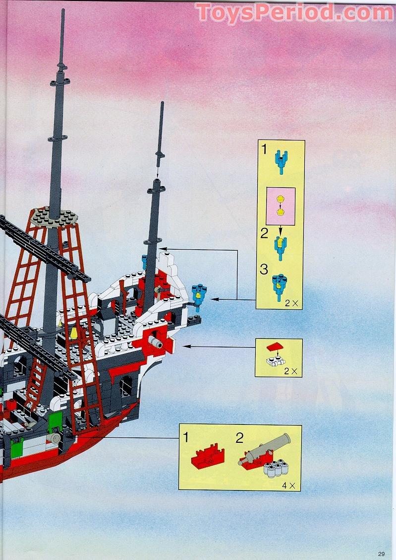 lego red skull instructions