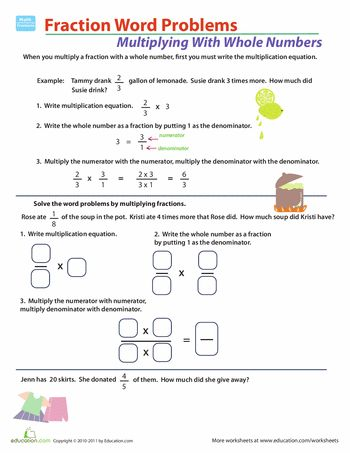 instructional strategies for multiplying fractions