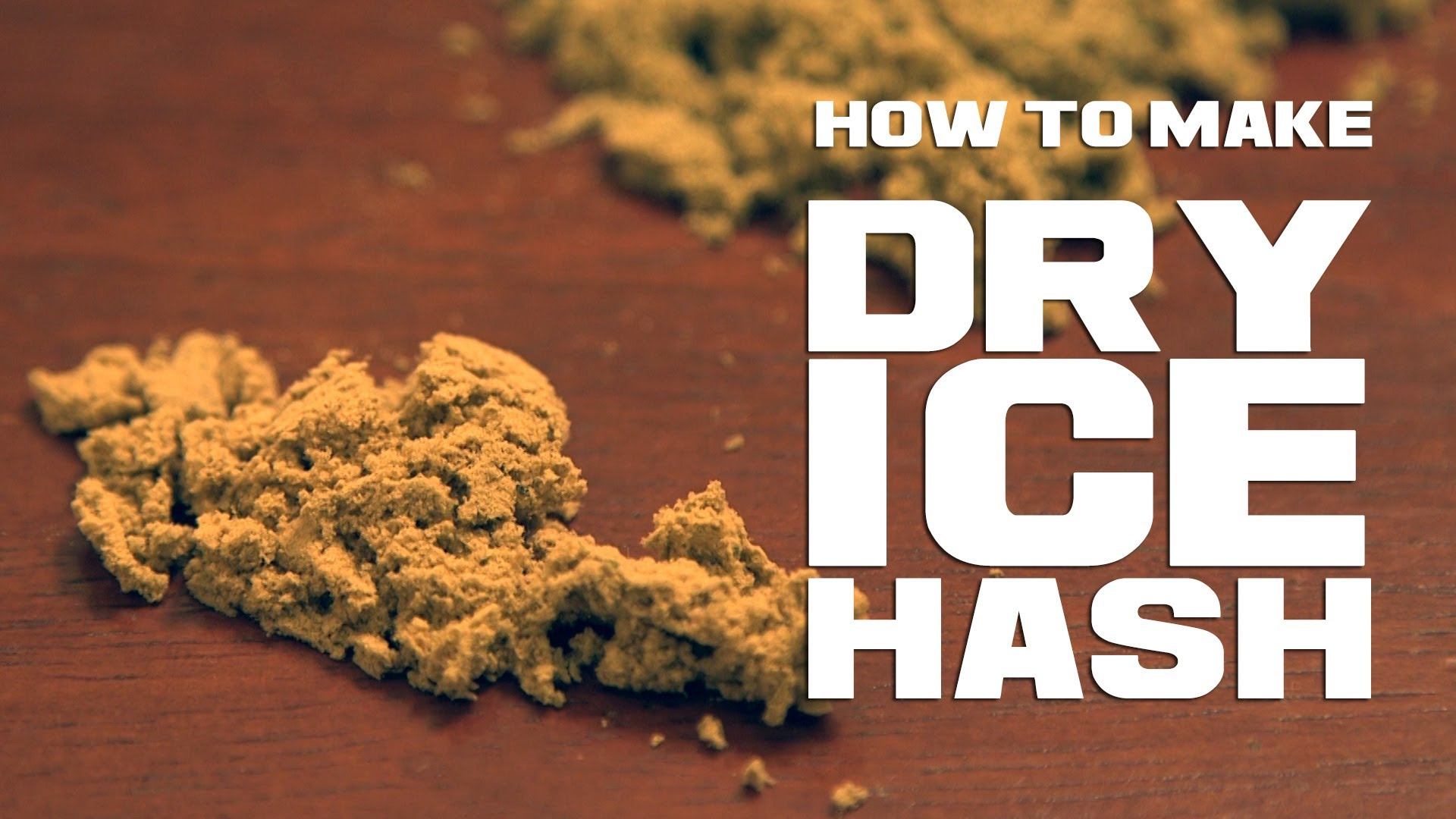 bubble hash instructions video