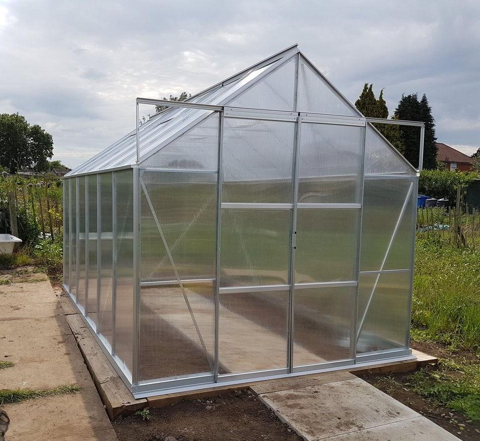 vitavia greenhouse base instructions