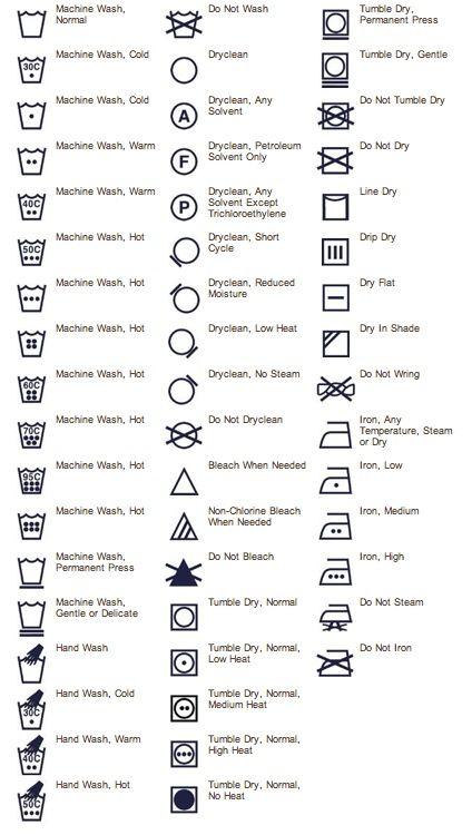 funny washing instruction labels