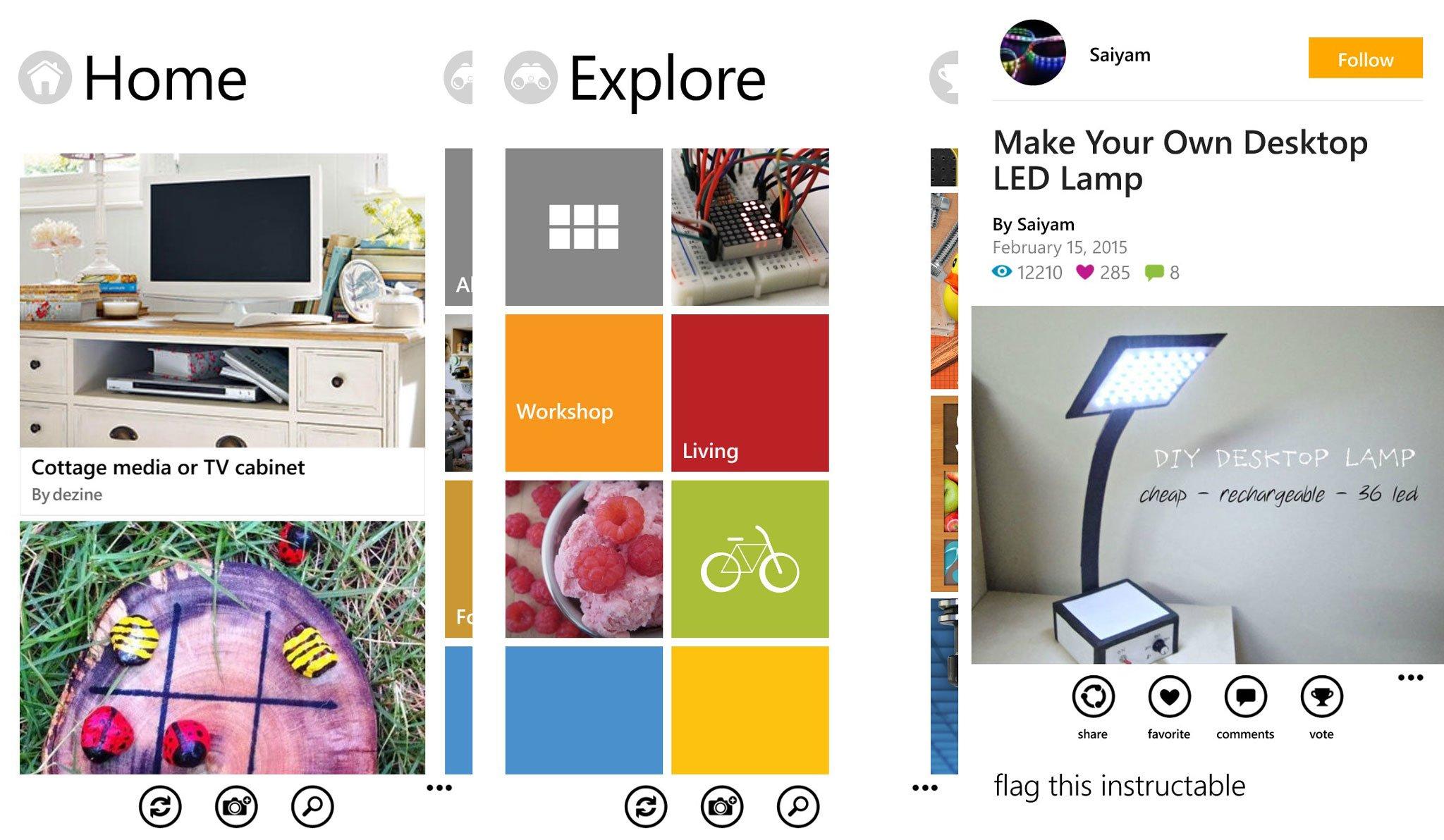 app site instructables.com