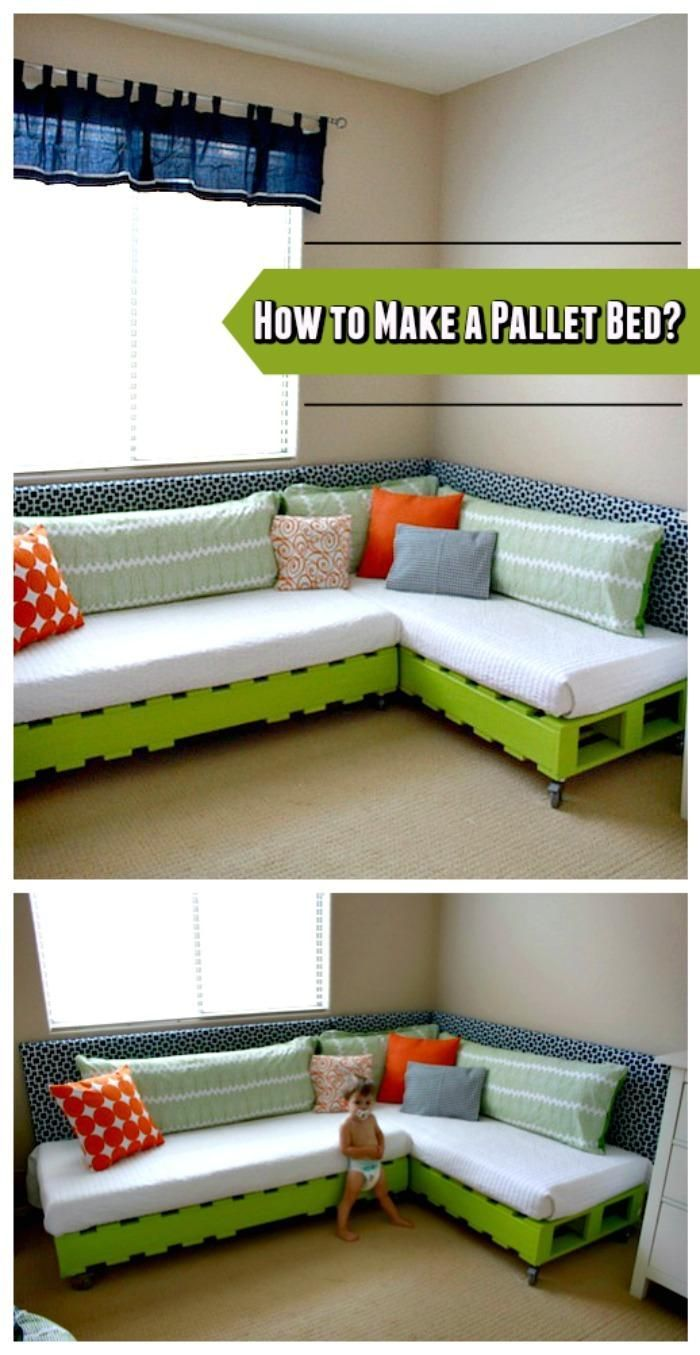 instructions for a pallet bed