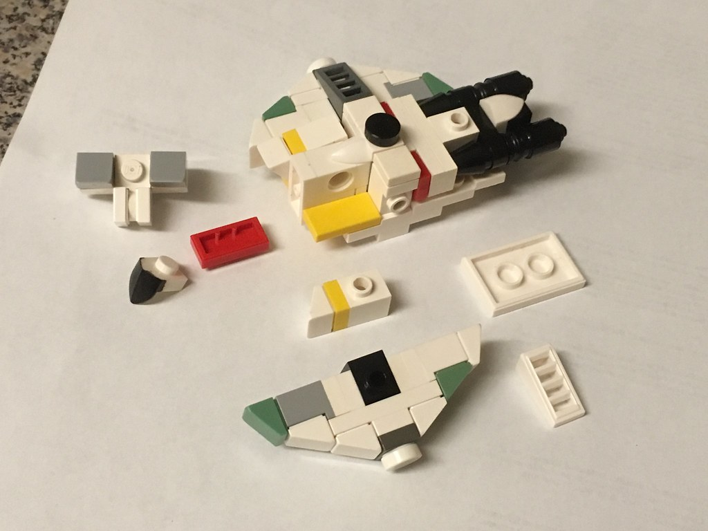 lego mini ghost instructions