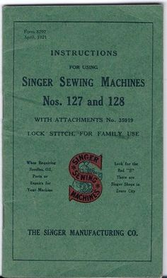 singer sewing machines instruction manual free 6212