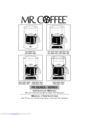 mr coffee espresso maker instructions ecm160