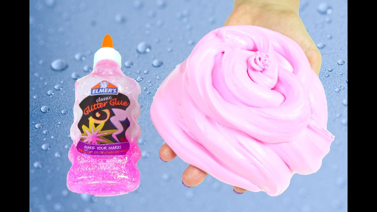 fluffy slime without borax instructions