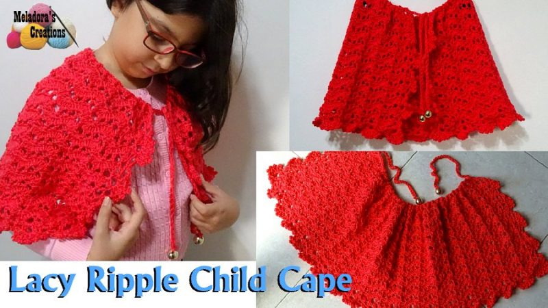vintage crochet cape patterns with button opening free instructions