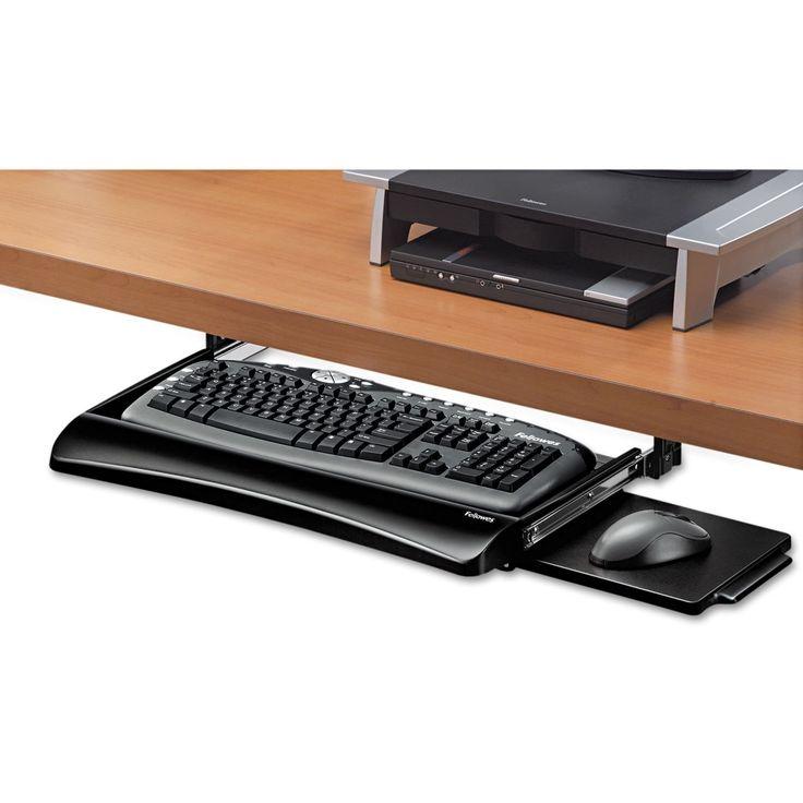 fellowes keyboard tray instructions