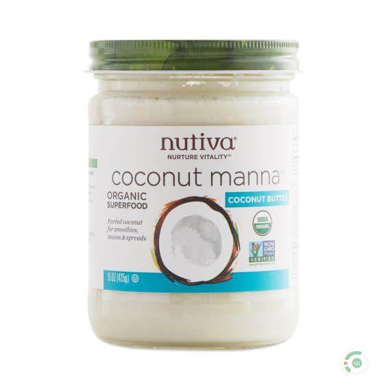 nutiva organic coconut manna instructions