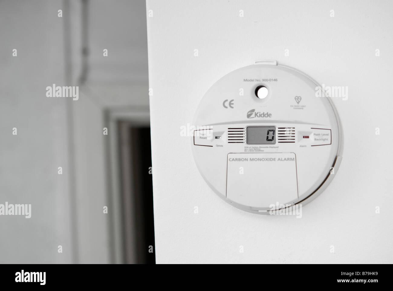 kidde digital readout carbon monoxide alarm instructions
