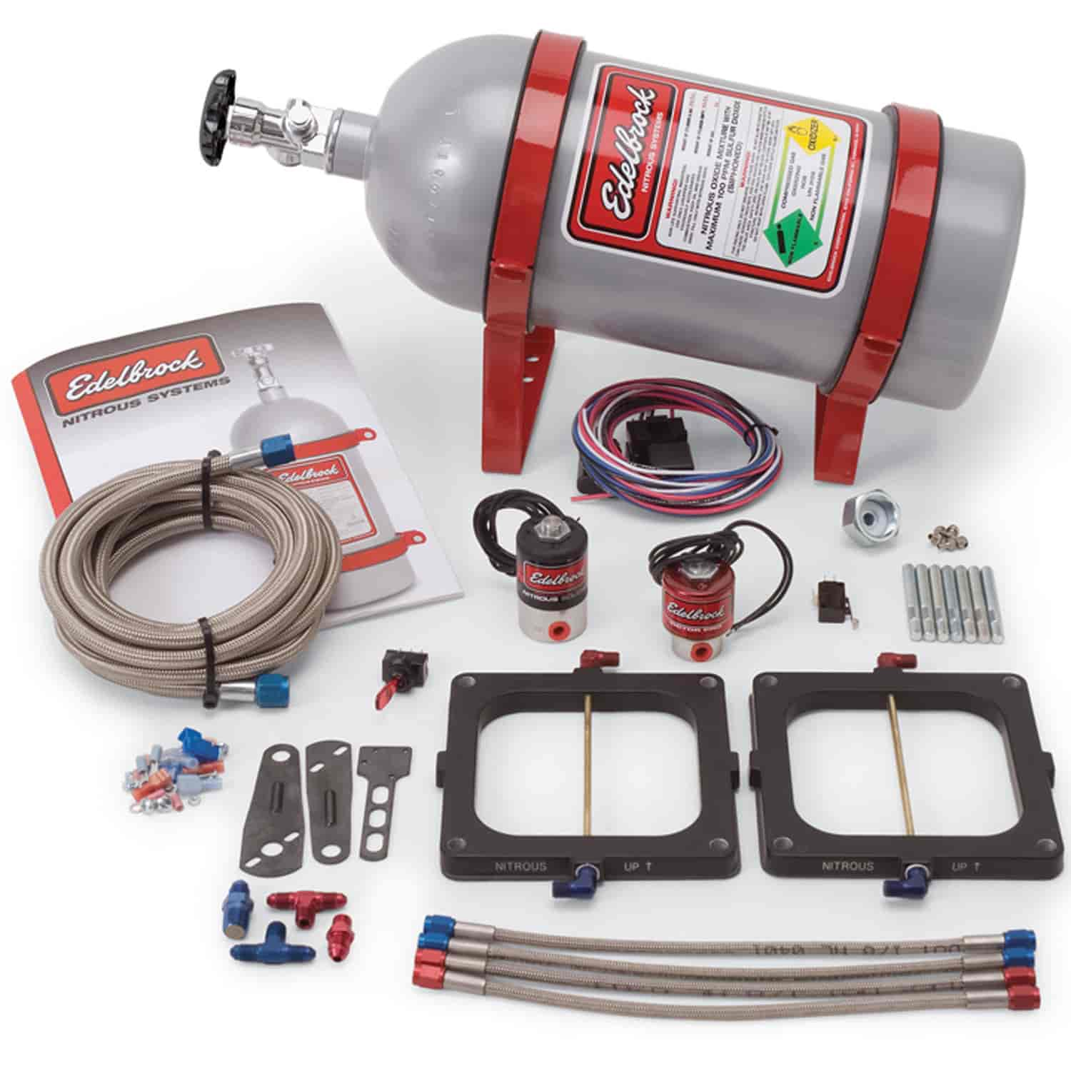 edelbrock performer rpm nitrous kit instructions