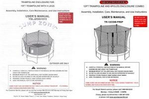 pure fun mini trampoline instructions