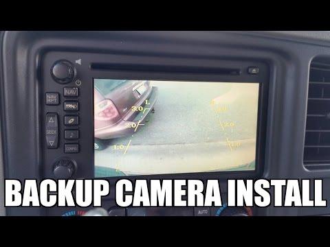 peak backup camera installation instructions
