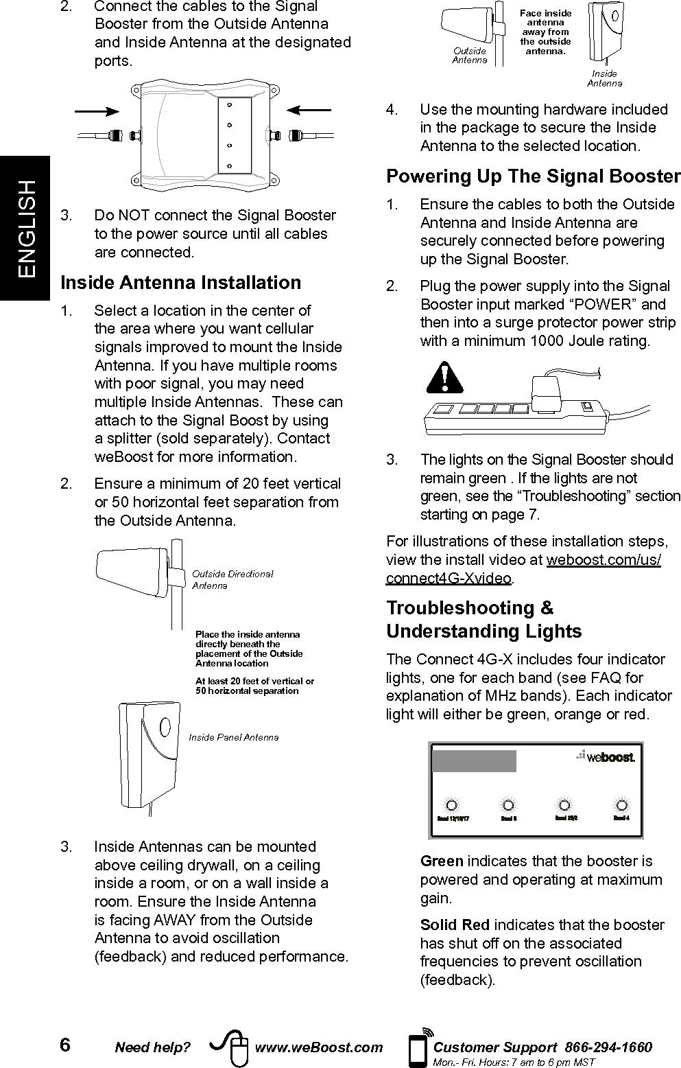 wilson amplifier in building 60hz instructions smartech