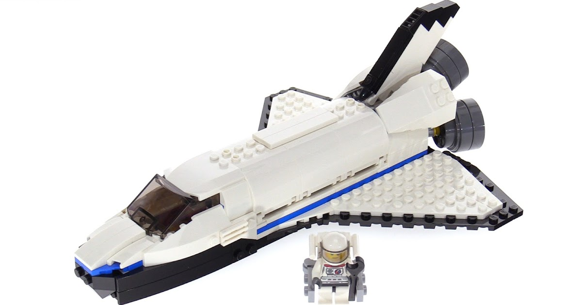 lego space shuttle 60078 instructions