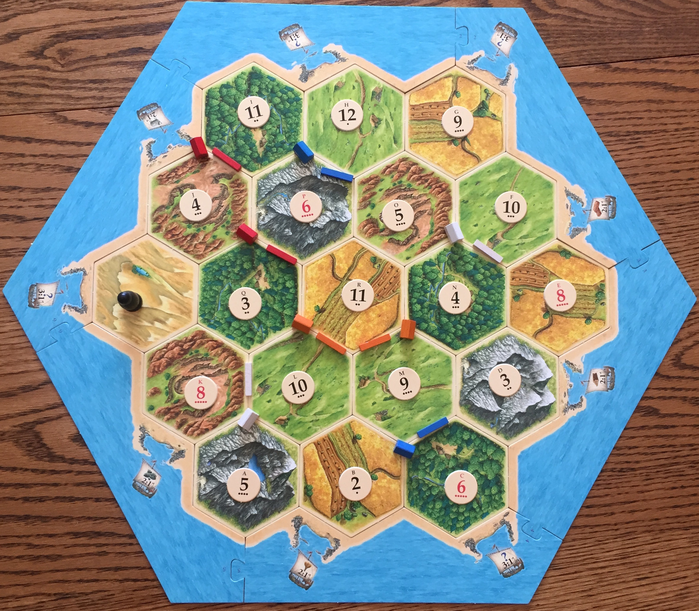 settlers of catan instructions and rules in arabic