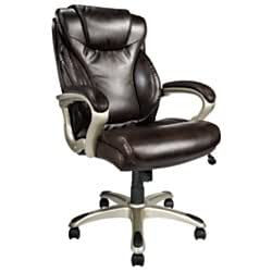 realspace breckland high back executive chair instructions