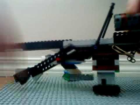 working lego sniper instructions